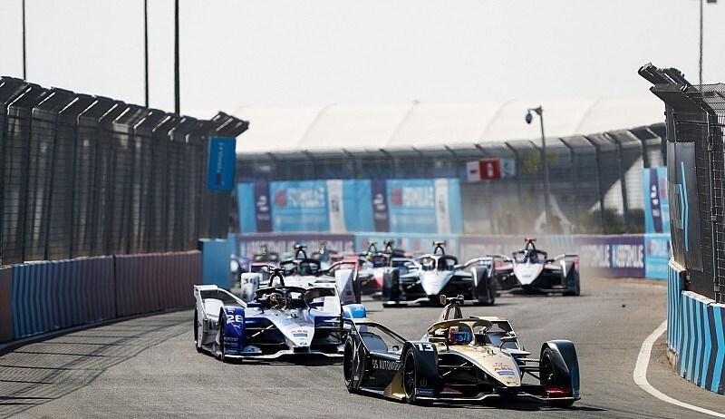 """فريق DS تيشيتا يبهر الجميع بسباق مراكش للفورميلا """"E"""" والمملكة المغربية تؤكد تفوقها فى تنظيم السباق"""