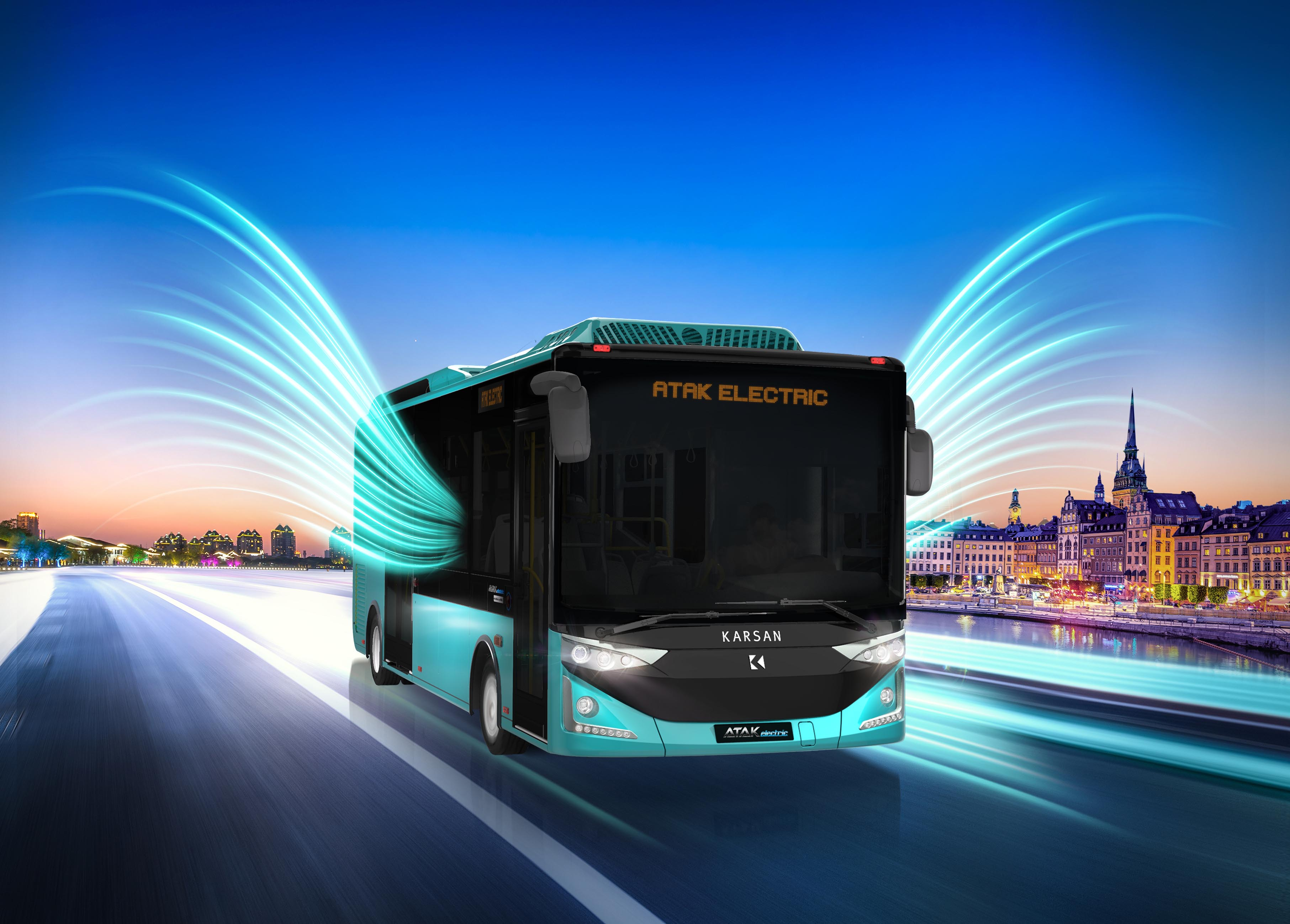 Karsan Attended the Busworld Fair Turkey with its Electric Models