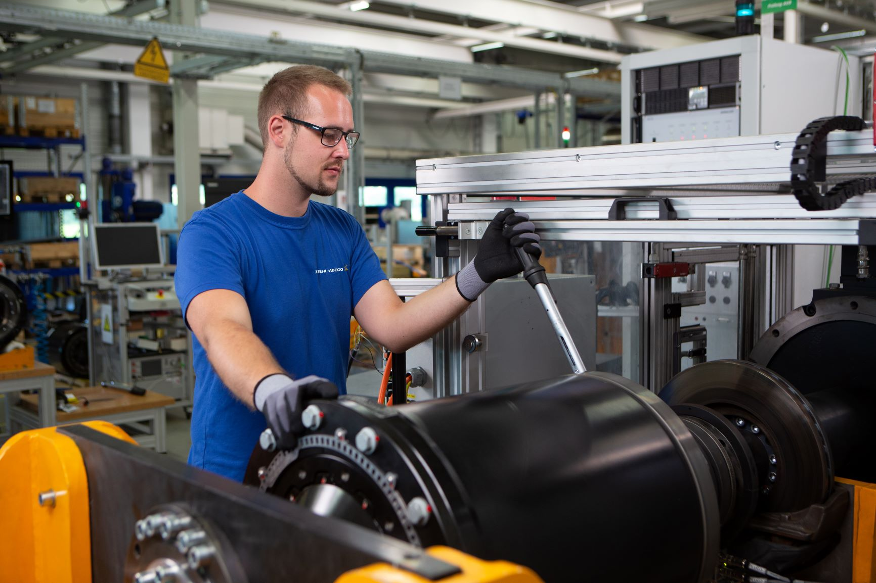 Electric motor and fan manufacturer Ziehl-Abegg posts an 8.6 percent rise