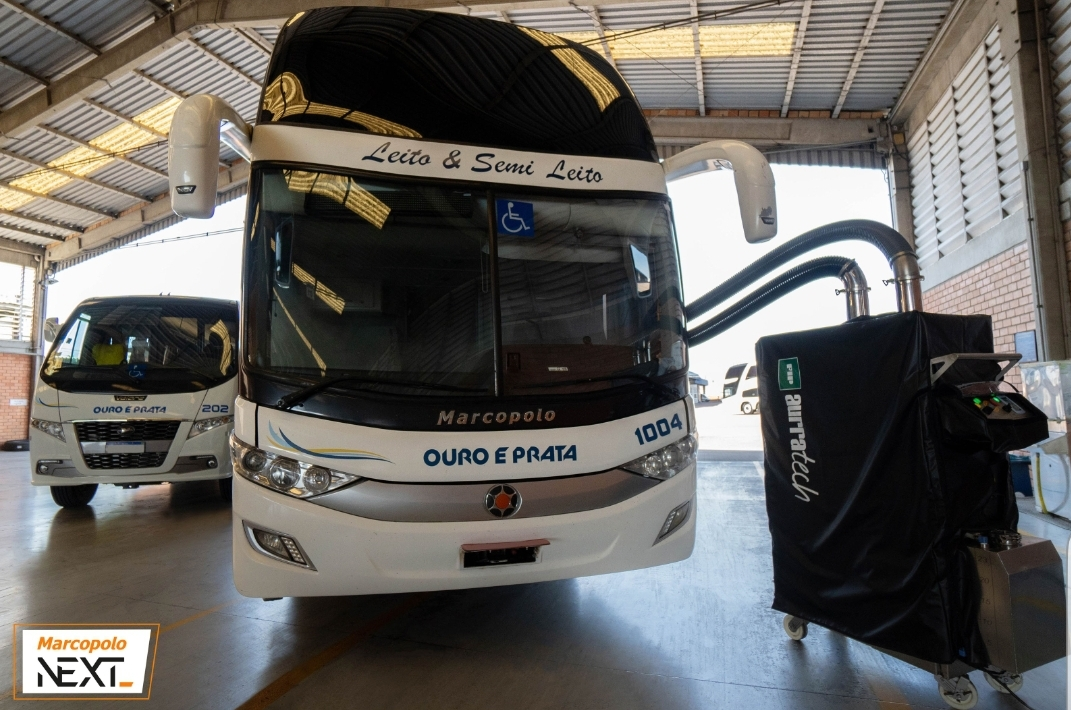 MARCOPOLO PRESENTS BUS BIOSAFETY SOLUTION