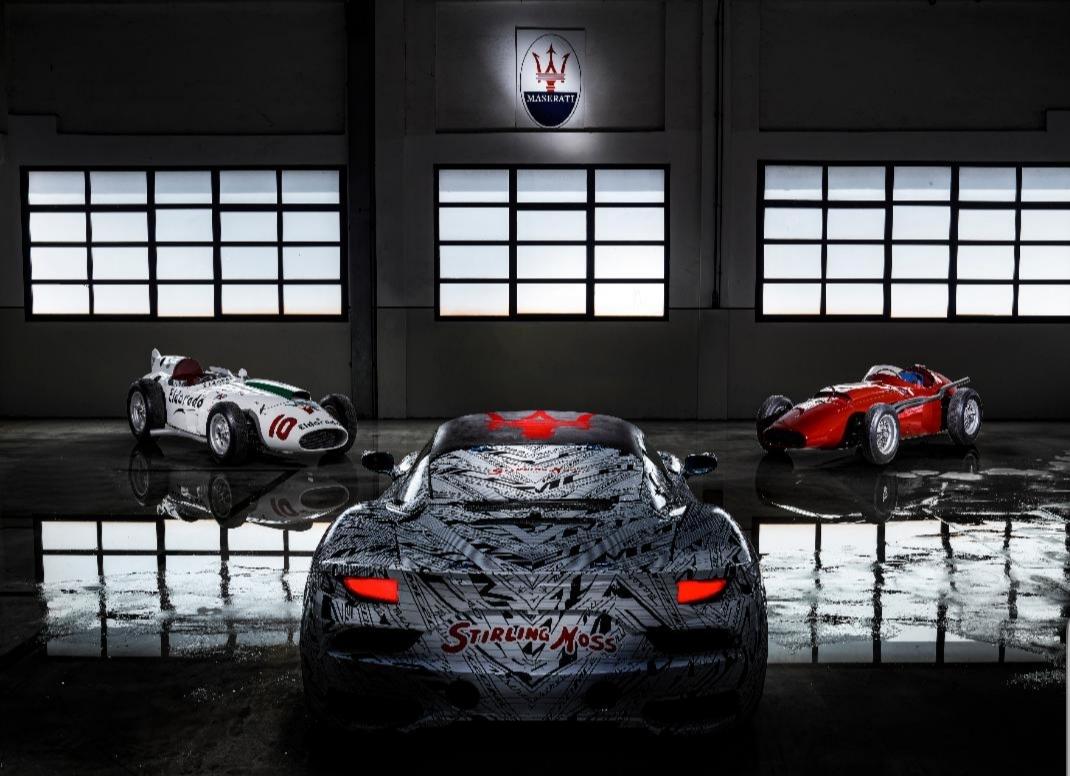 مازيراتي تخصص النموذج الأولي لسيارتها الرياضية MC20   لإحياء ذكرى السائق البريطاني ستيرلنج موس