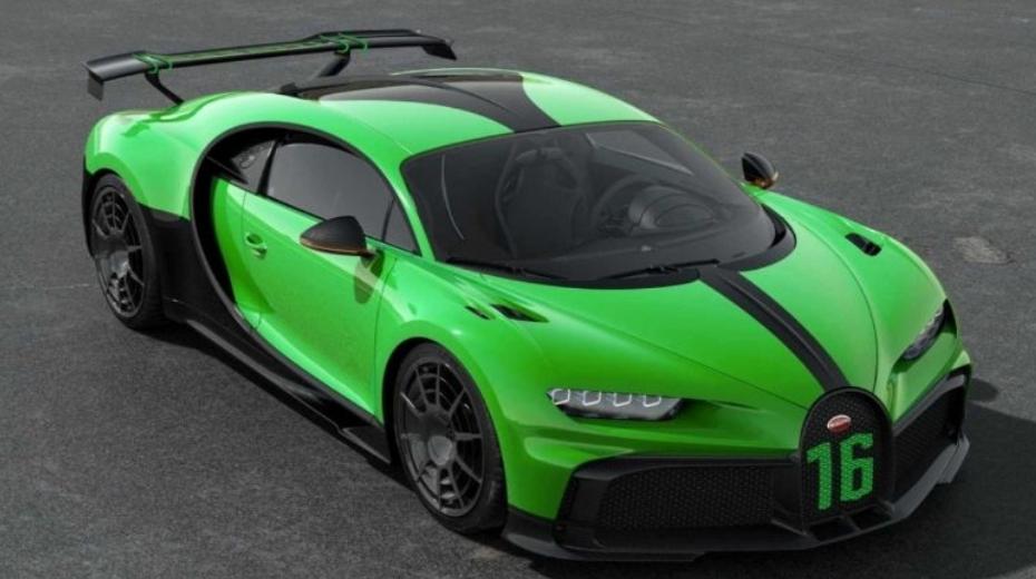بوجاتي تشيرون Pur Sport الجديدة هل هي أبطأ من السيارة شيرون