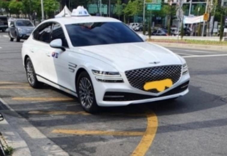 جينيسيس G80 تتحول إلى سيارة أجرة في كوريا