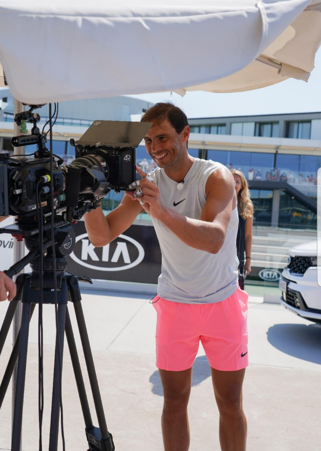 KIA AND RAFAEL NADAL EXTEND BRAND AMBASSADOR PARTNERSHIP IN LIVE-STREAM TRAINING SESSION