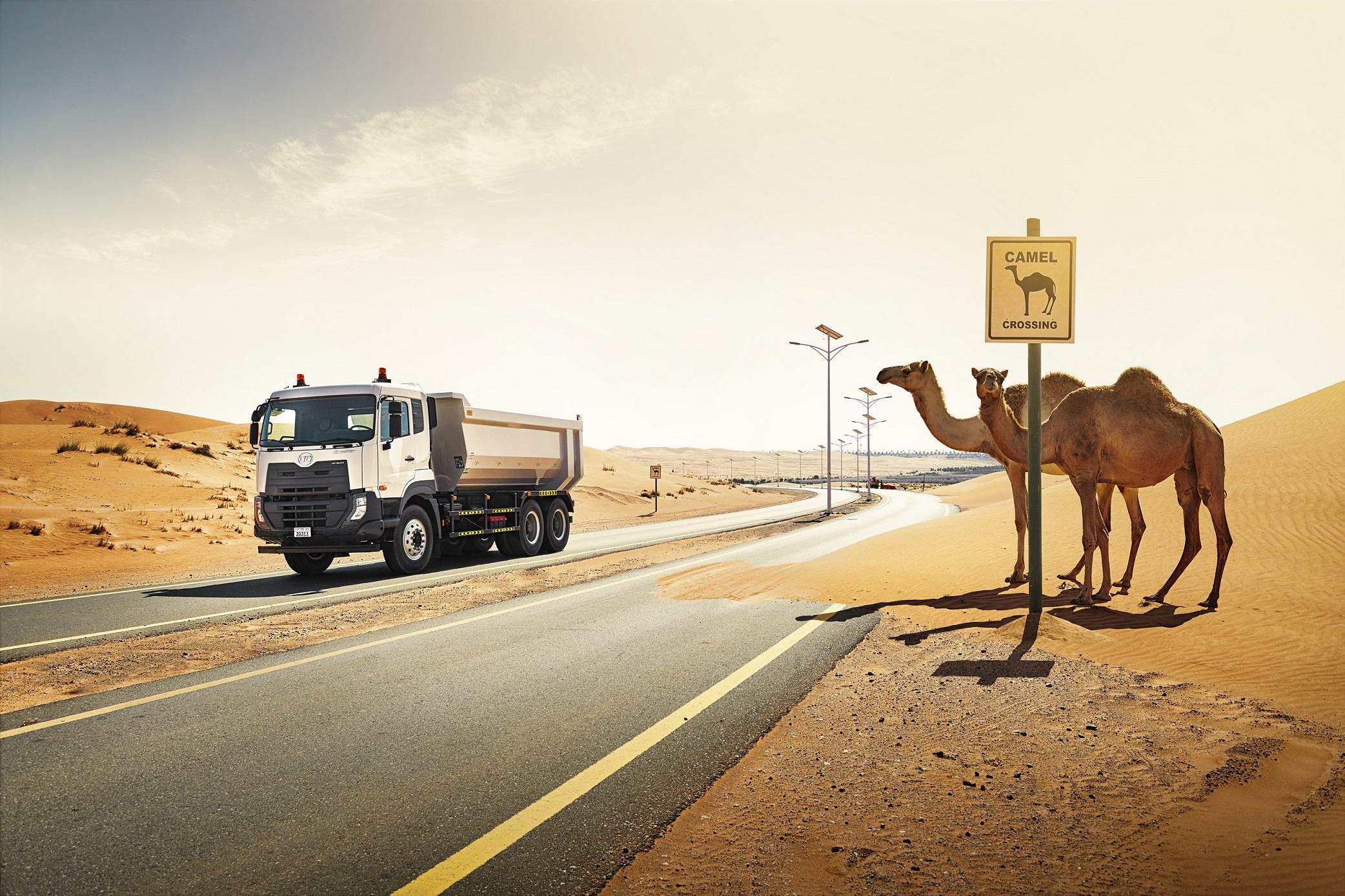 'شاحنات يو دي' تعلِن عن نمو في مبيعاتها بمختلف أنحاء منطقة الشرق الأوسط، شرق وشمال أفريقيا خلال العام 2018