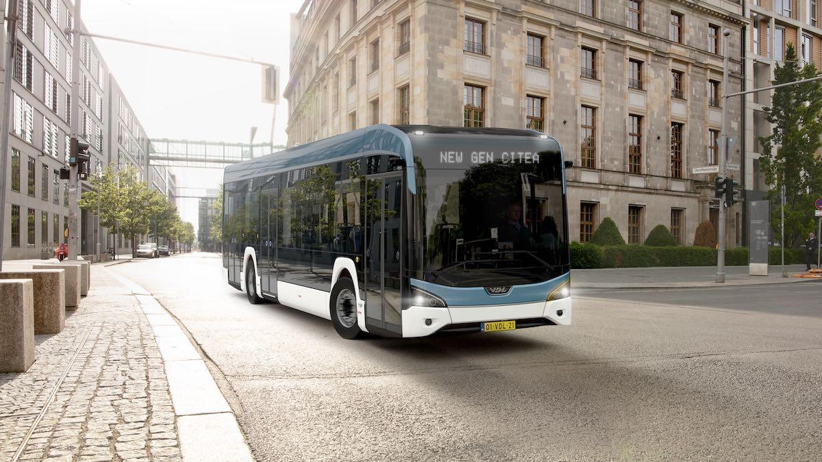 تم الكشف عن مجموعة جديدة من الحافلات الكهربائية VDL.  تم رفع الستار عن الجيل الجديد من Citea