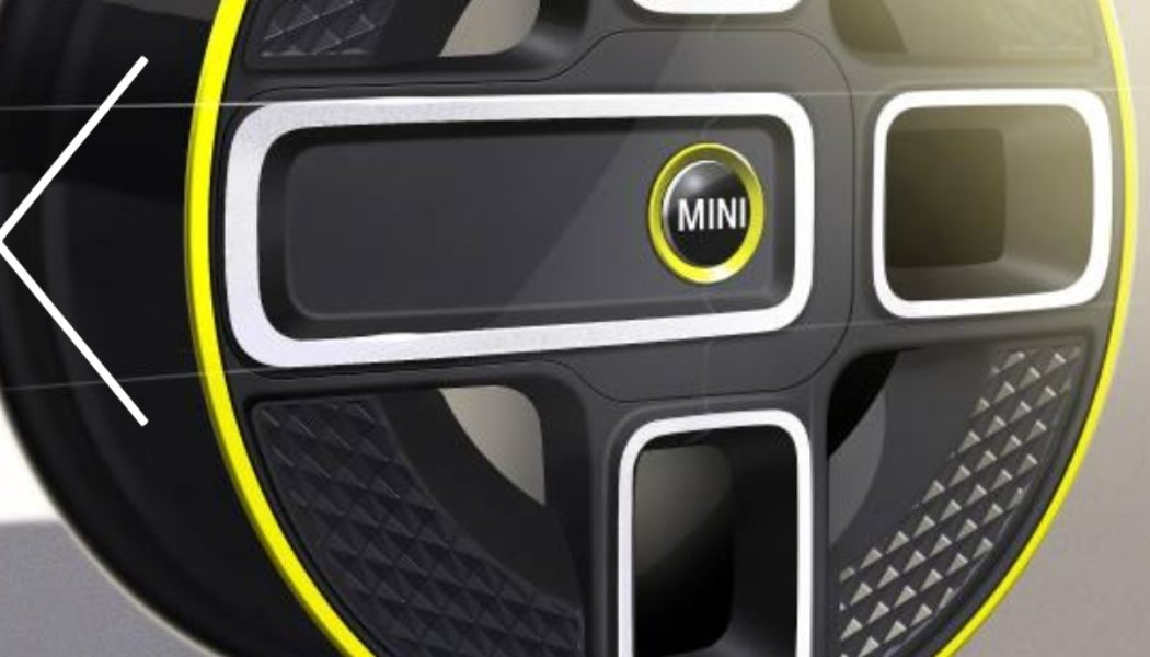 Electrifying design details. MINI shows initial design sketches of its fully-electric production model – to be presented in 2019.